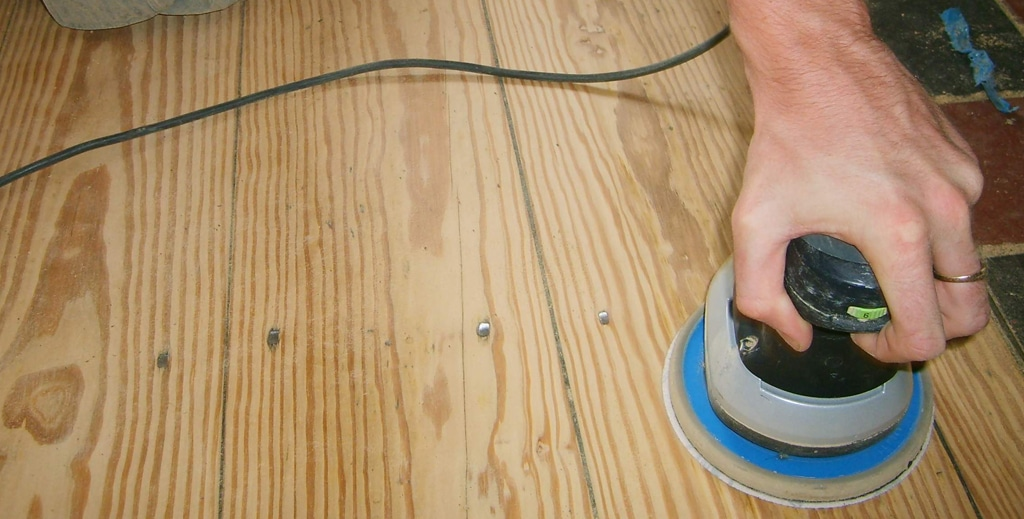 Is it Possible to do a Light Sanding on a Hardwood Floor?