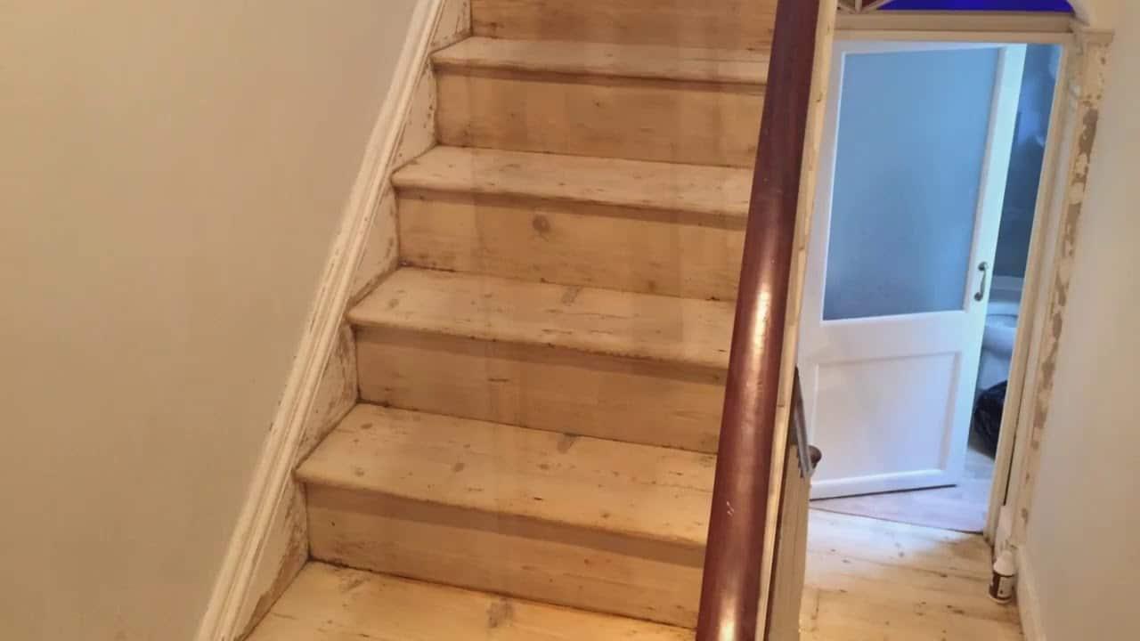 Floor Sanding Stairs